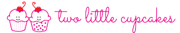 Two Little Cupcakes Logo